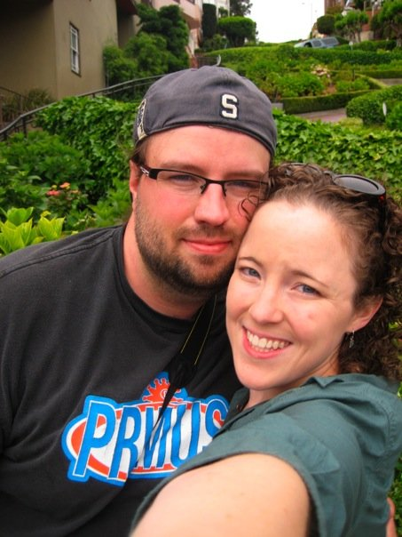 Dan and his wife in San Francisco